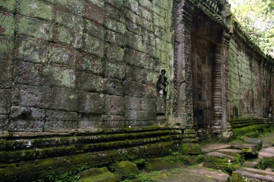 Another interior shot of Ta Prohm.