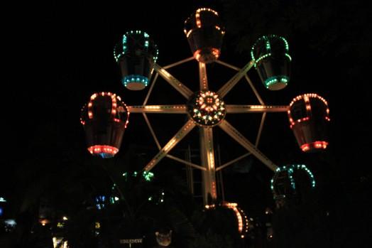 The ferris wheel!
