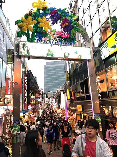 Takeshita Street_Harajuku_Tokyo