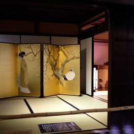 In the past, only the nobility and samurai class sleep on tatami mats.