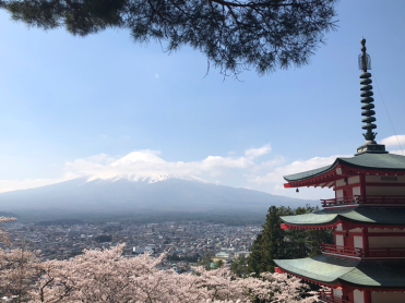 Another classic view of Japan (Photo credit: Yvonne Z.).