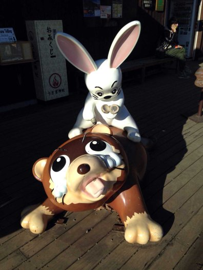 Yep. Now I view bunnies differently...! (Photo credit: Yvonne Z.)