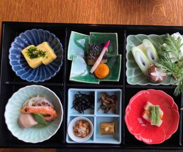 A sumptuous Japanese breakfast! (Photo Credit: Yvonne Z.)