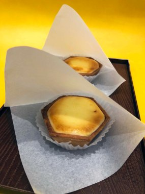 Cheese tarts, gorgeous cheese tarts! (Photo Credit: Yvonne Z.)