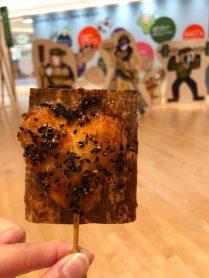 A heart-shaped fried kamaboko! (Photo credit: Yvonne Z.)