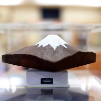 I was quite amused when I came across the 3D chocolate version of Mt. Fuji!