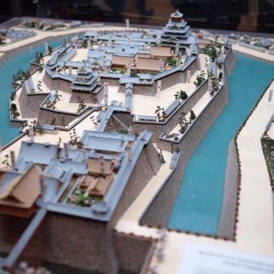 Model of Osaka Castle
