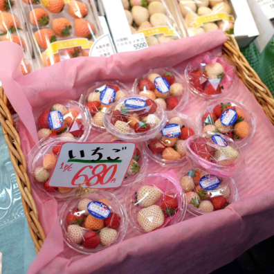 White strawberries are a delicacy, and Japan is currently the only country producing these white jewels, or Shiroi Houseki.