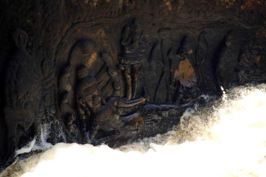 The reclining Vishnu