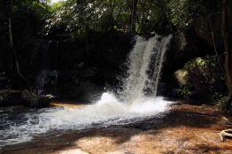 The waterfall at Kbal Spean